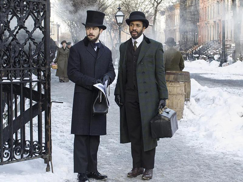 Michael Angarano and André Holland