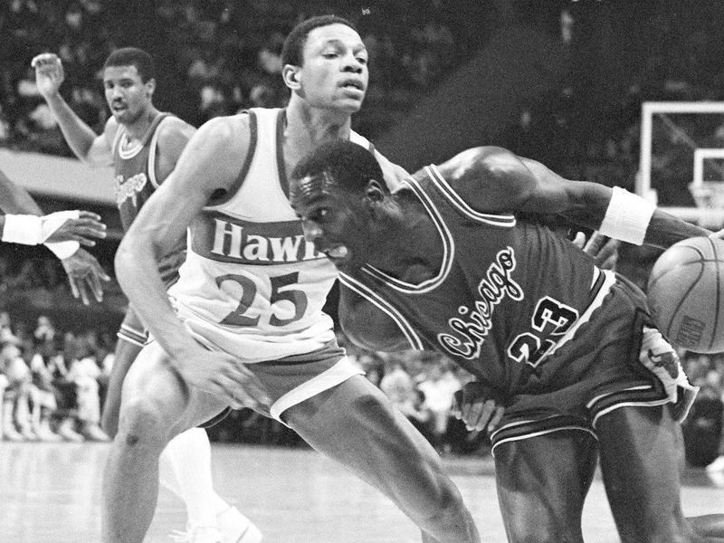 Michael Jordan and Doc Rivers