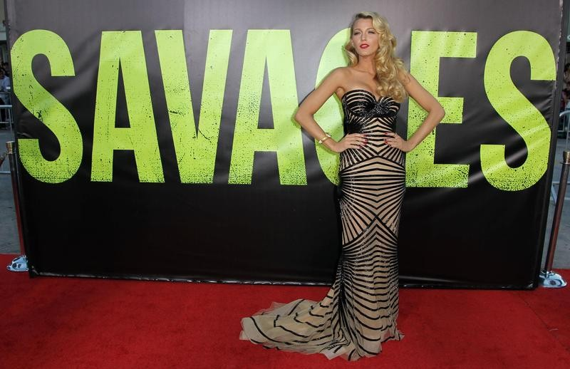 """Blake Lively at the premiere of """"Savages"""""""