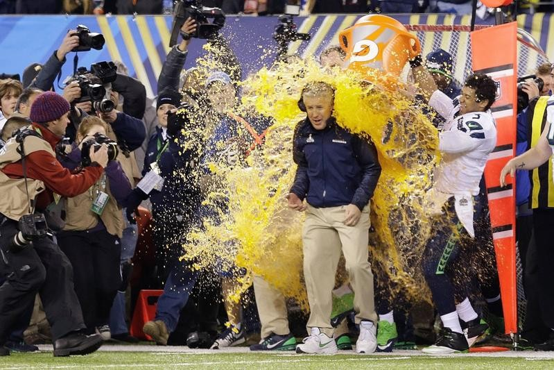 Pete Carroll in Super Bowl XLVIII