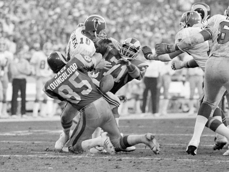 Jack Youngblood and Reggie Doss