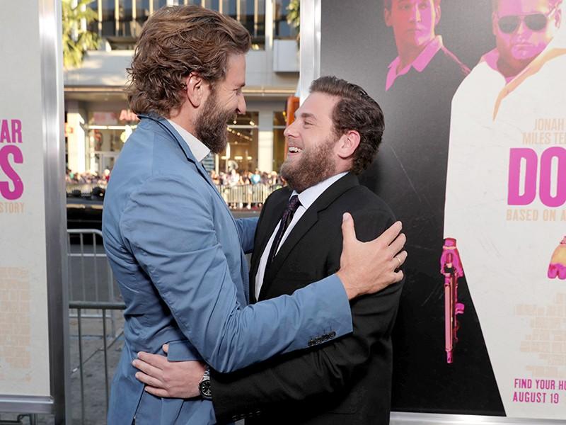 Jonah Hill and Bradley Cooper
