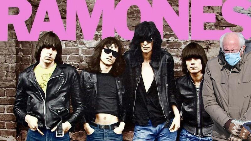 Bernie Sanders and the Ramones