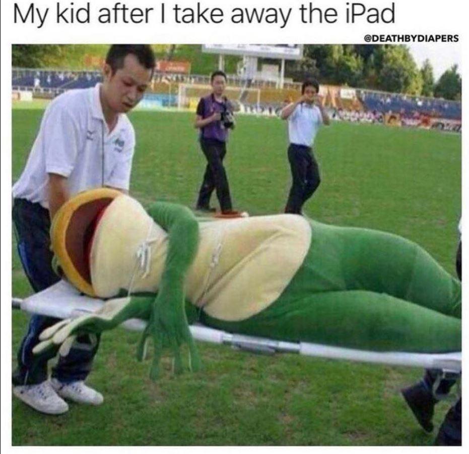Taking away the iPad meme