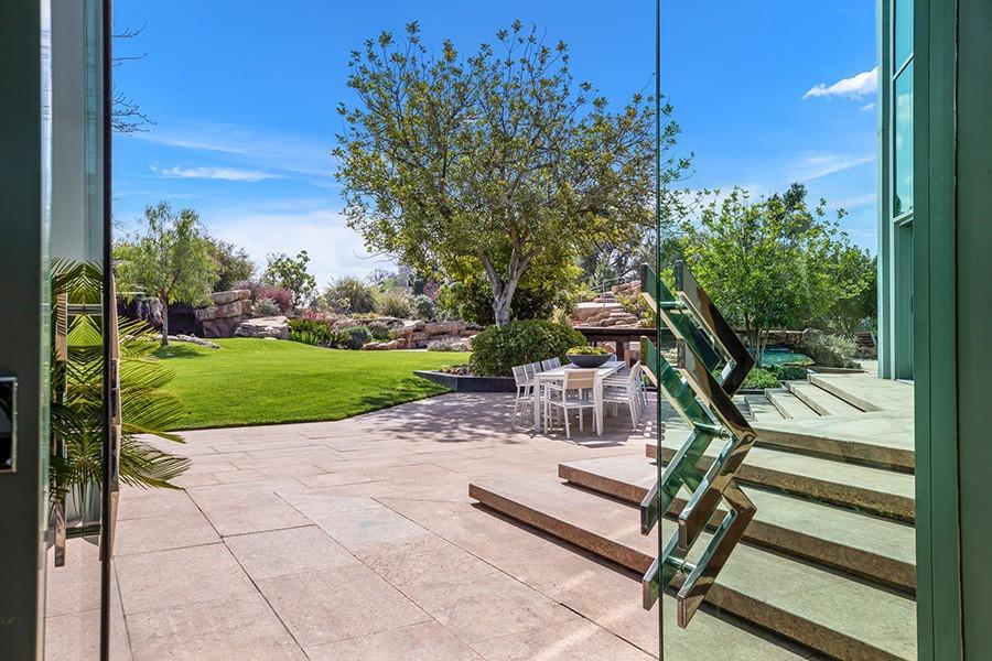 Pharrell Williams' backyard