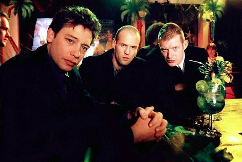 Jason Flemyng, Dexter Fletcher, and Jason Statham in Lock, Stock and Two Smoking Barrels