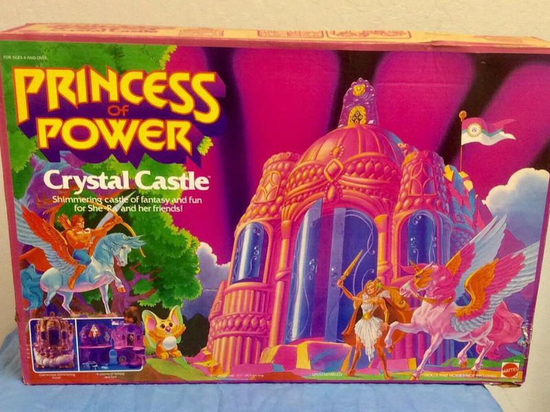 She-Ra Princess of Power Crystal Castle
