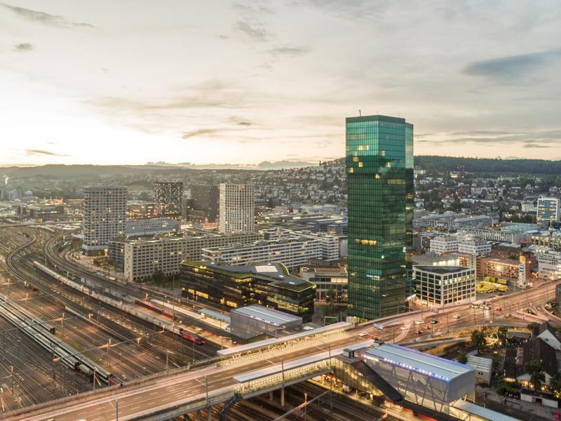 Prime Tower in Zurich, Switzerland