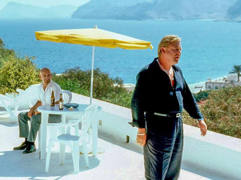 Ben Kingsley and Ray Winstone in Sexy Beast (2000)