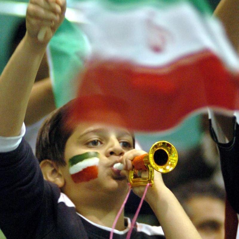 Fan at Islamic Solidarity Games