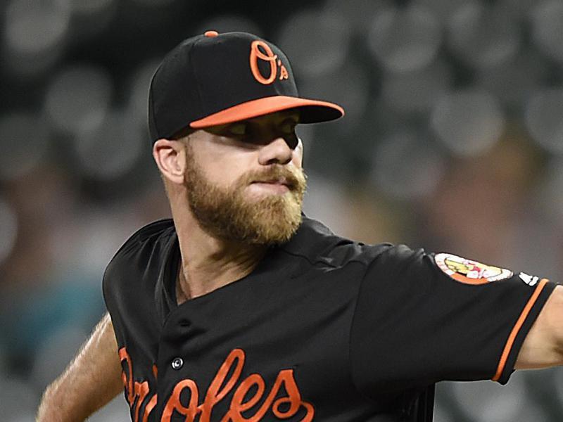 Baltimore Orioles first baseman Chris Davis