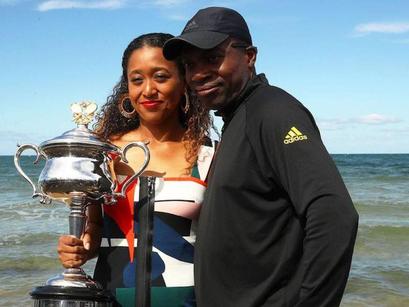 Naomi Osaka and Leonard Francois