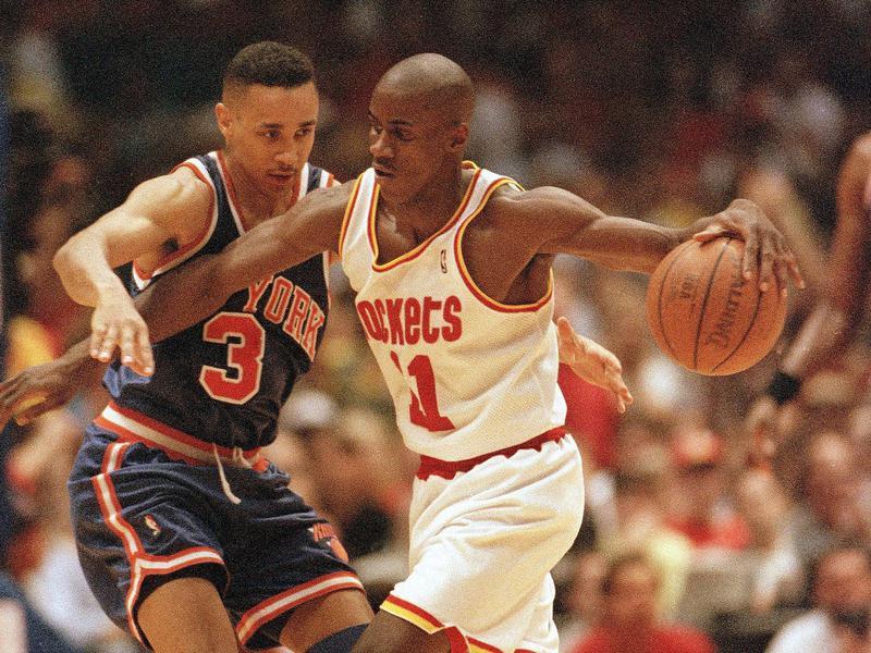 Houston Rockets guard Vernon Maxwell