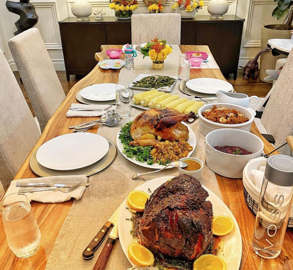 Dwayne Johnson Thanksgiving
