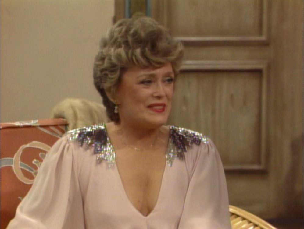Blanche from The Golden Girls
