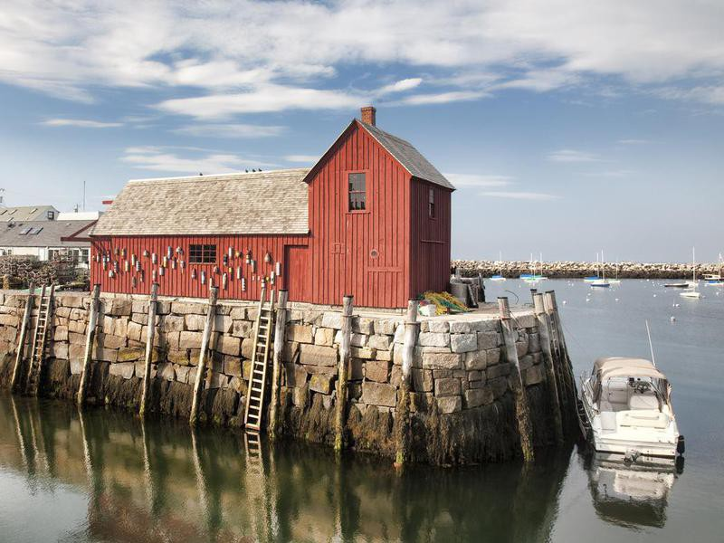 Motif Number One in Rockport, Massachusetts