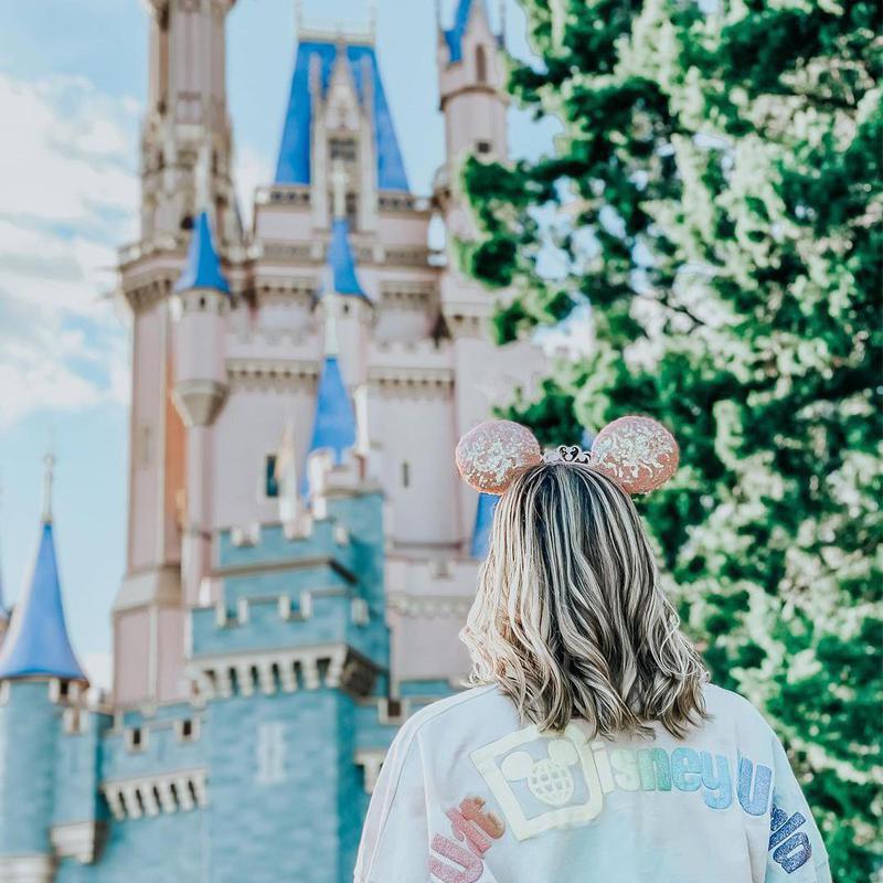 Woman at Disney