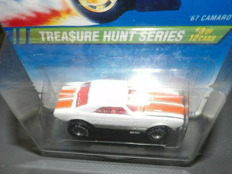 Treasure Hunt Camaro Hot Wheels