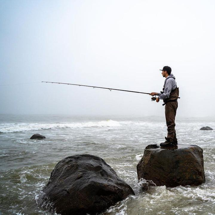 Fishing at Montauk Point State Park