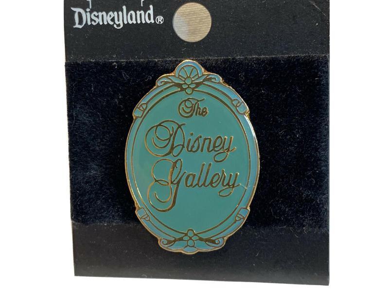 Rare Disney Gallery Logo pin