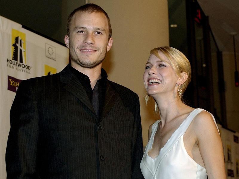 Heath Ledger and Naomi Watts