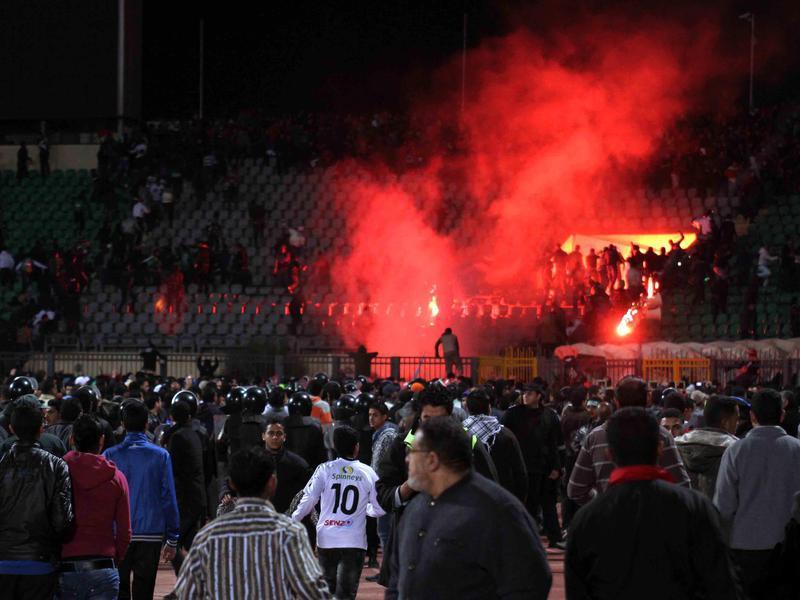Egyptian soccer fans