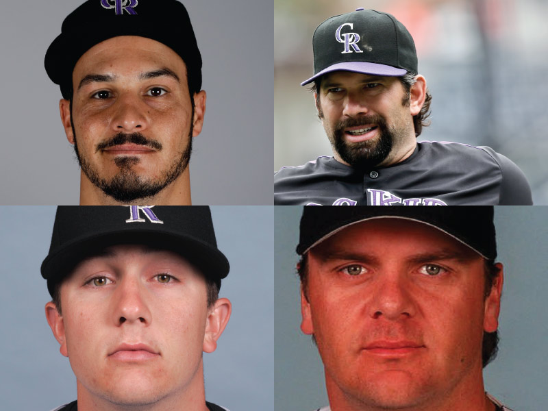 Colorado Rockies Mount Rushmore