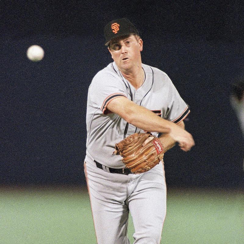 San Francisco Giants Rick Reuschel pitching