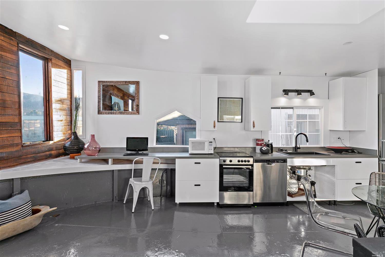 Shel Silverstein kitchen