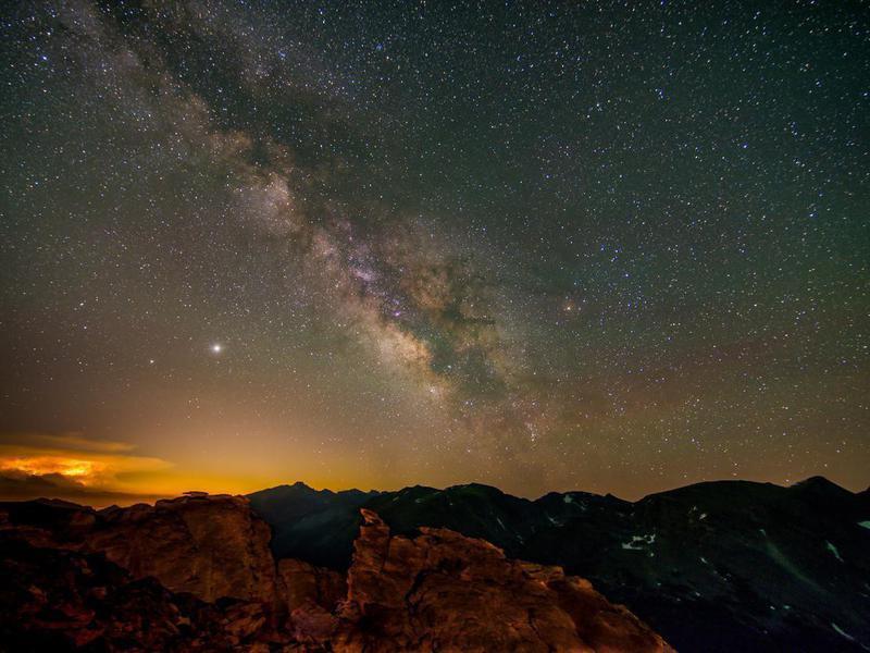 The Milky Way, Rocky Mountain National Park, Colorado