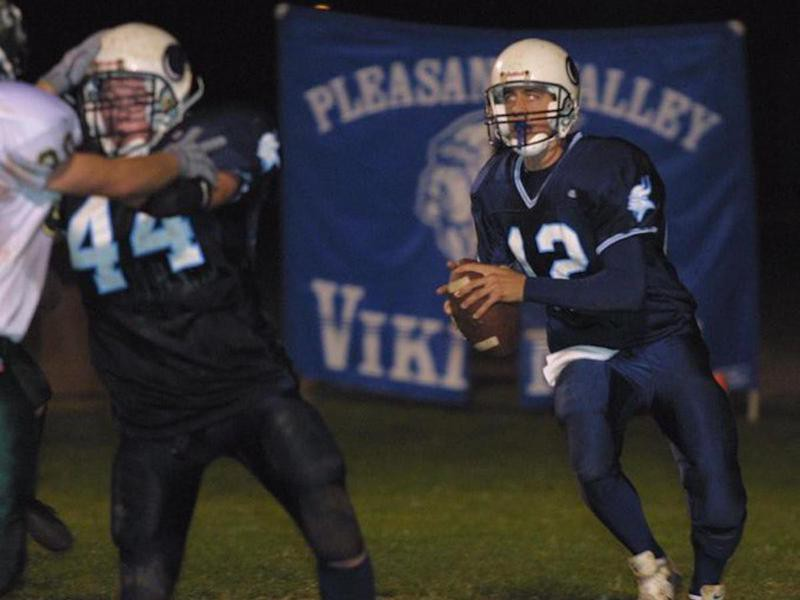 Aaron Rodgers at Pleasant Valley HighSchool
