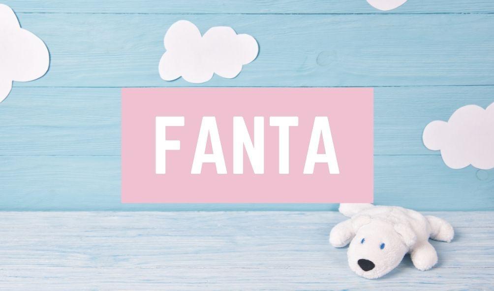 Terrible Baby Names: Fanta