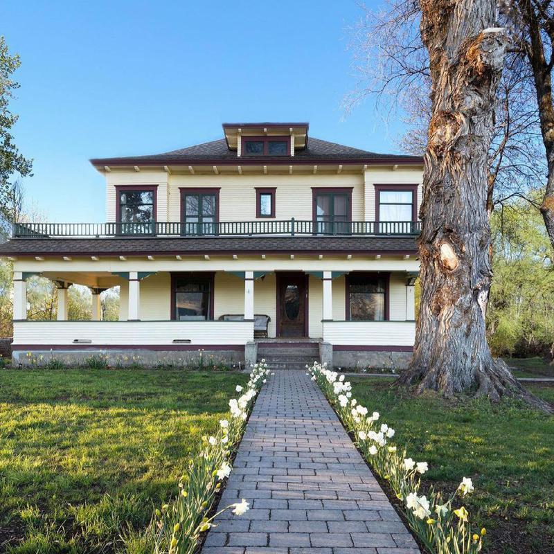 The Old Farmhouse exterior