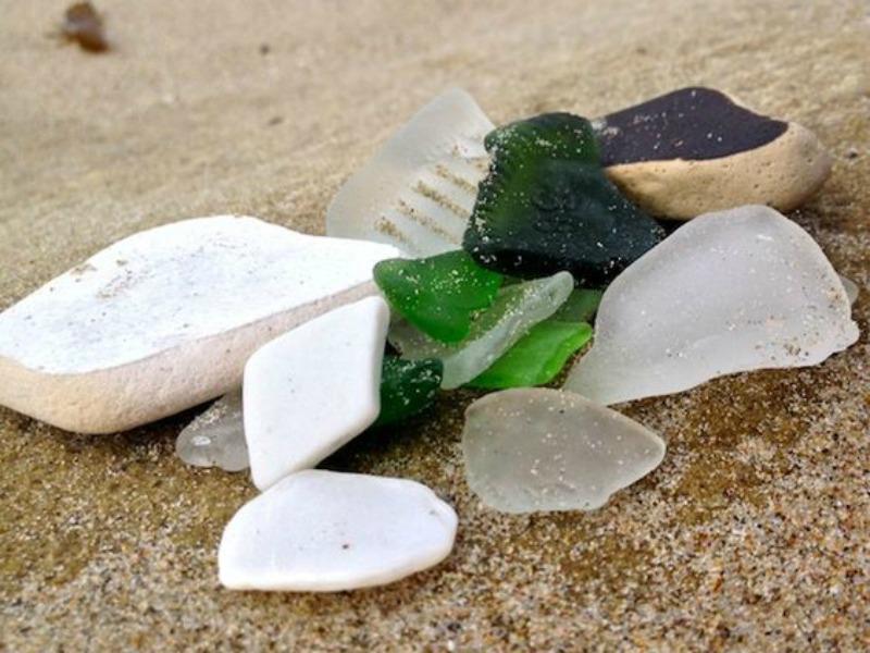 Summerland Beach Sea Glass