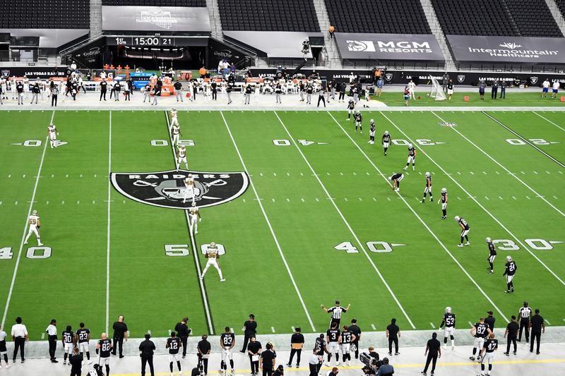 Raiders kickoff