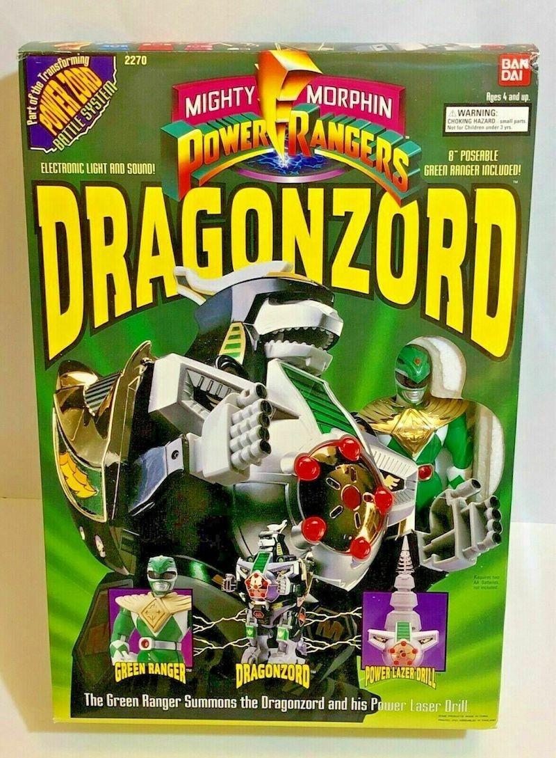 Dragonzord action figure