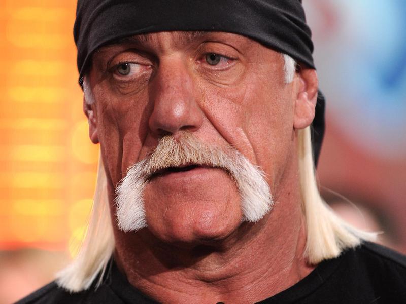 Hogan's not-so-happy face