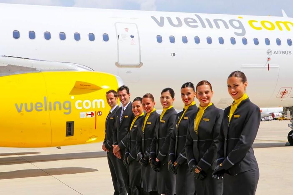 Vueling Airlines flight attendants