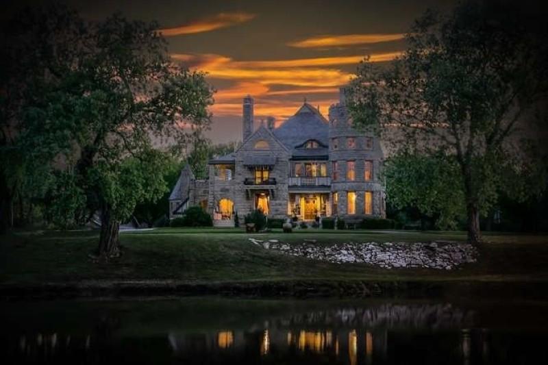 Campbell Castle in Wichita, Kansas