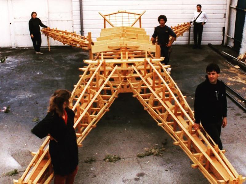Burning Man Construction