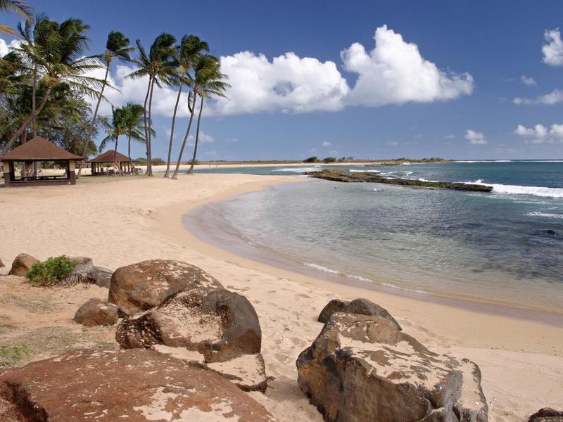 Hanapepe beach in Kauai, Hawaii