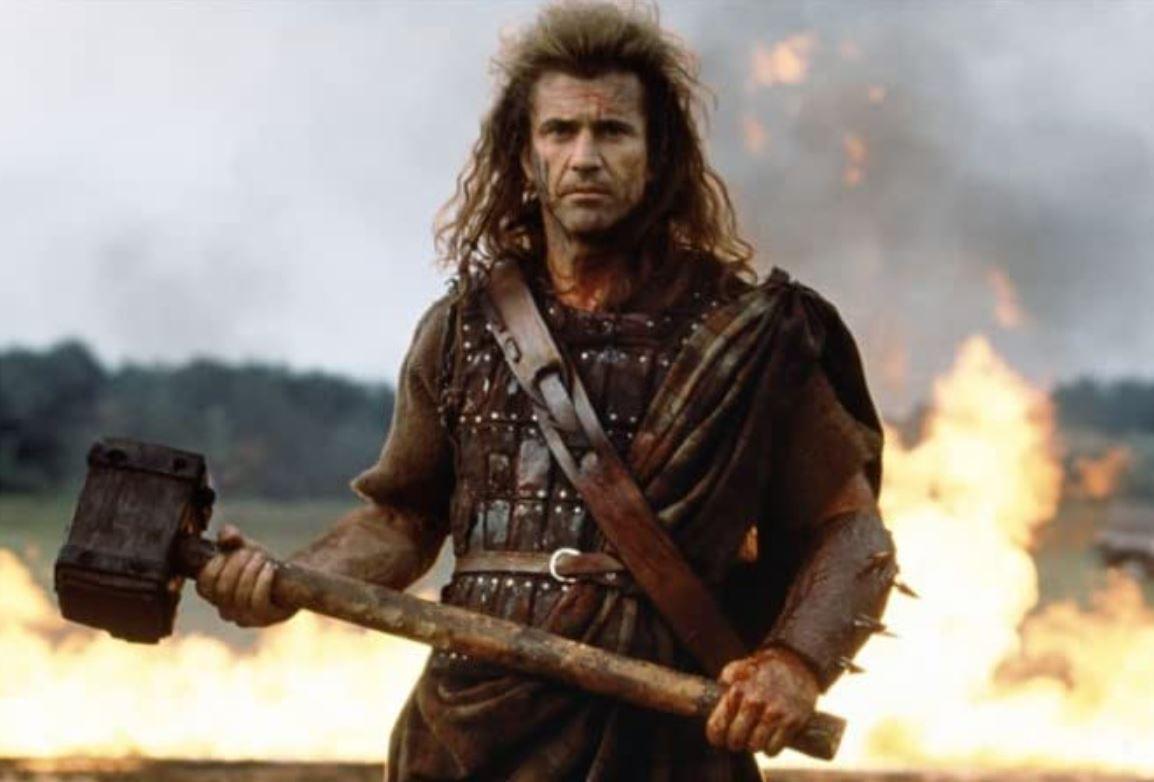 Mel Gibson in Bravehart