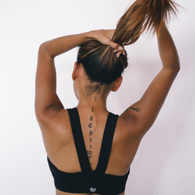 Multiple Back Tattoos