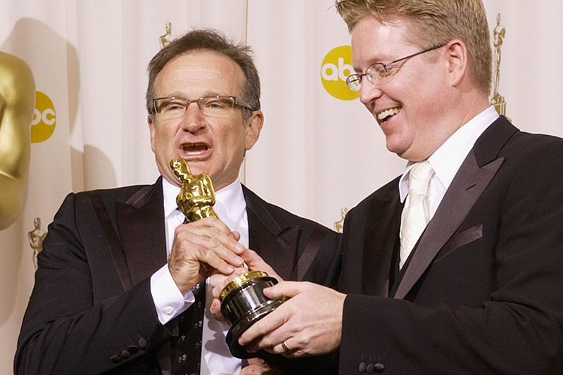 Robin Williams and Andrew Stanton