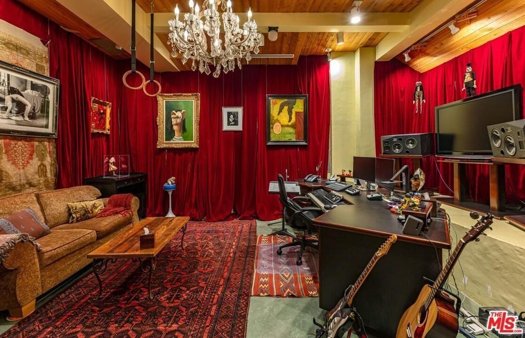 Danny Elfman's recording studio