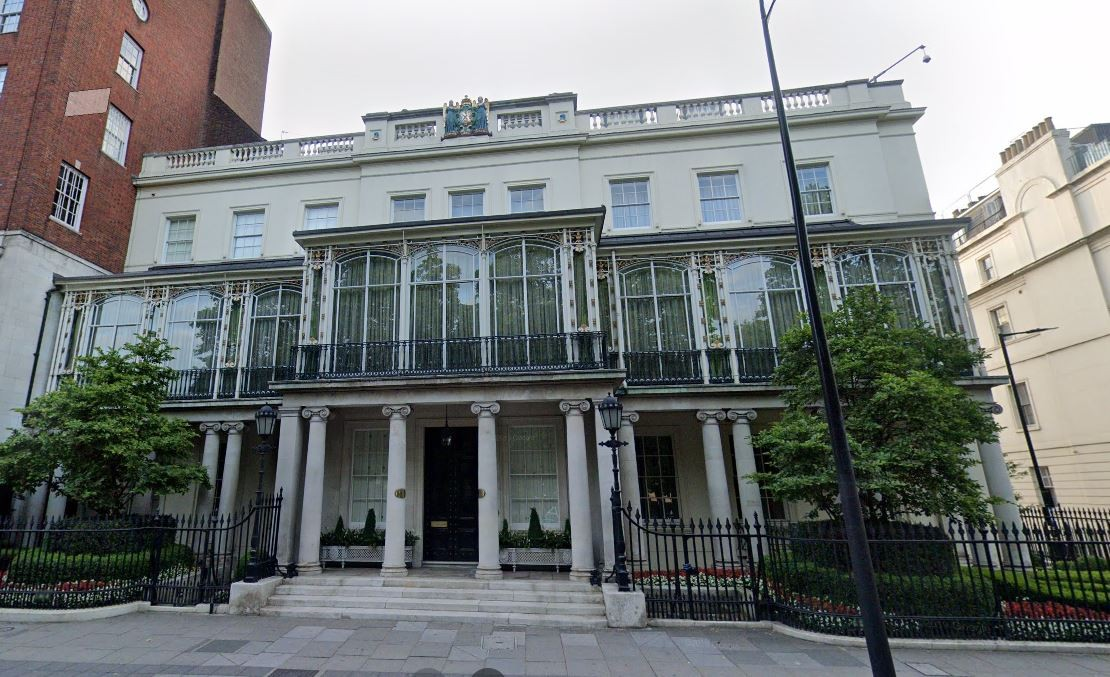 Dudley House in London