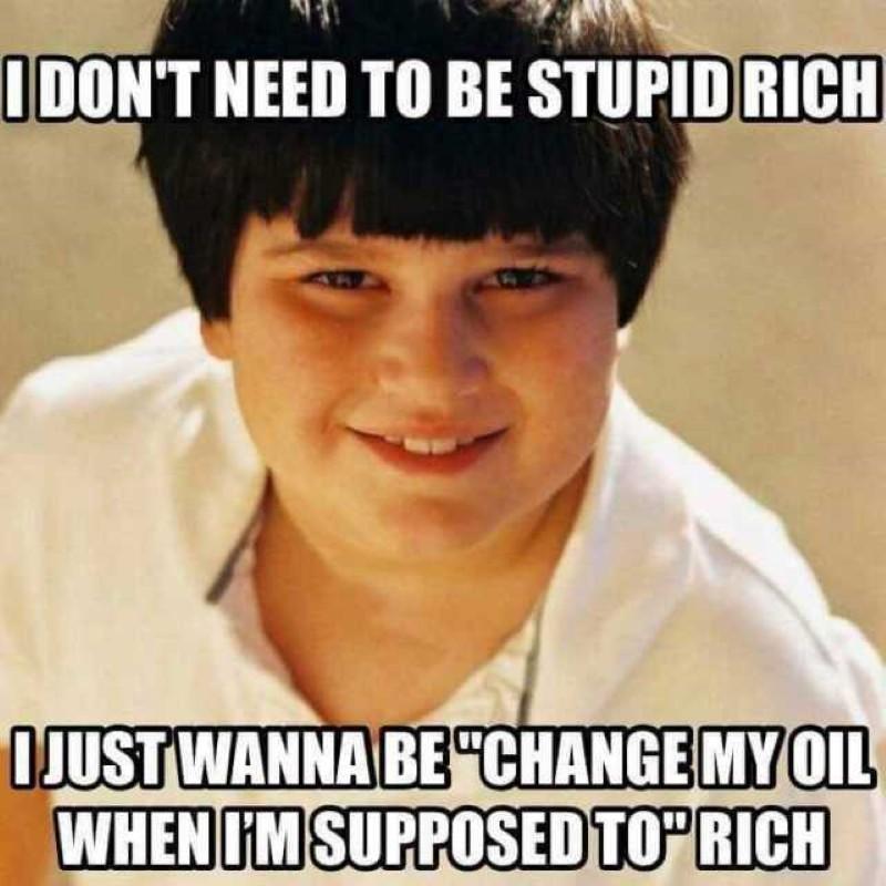 Oil change rich
