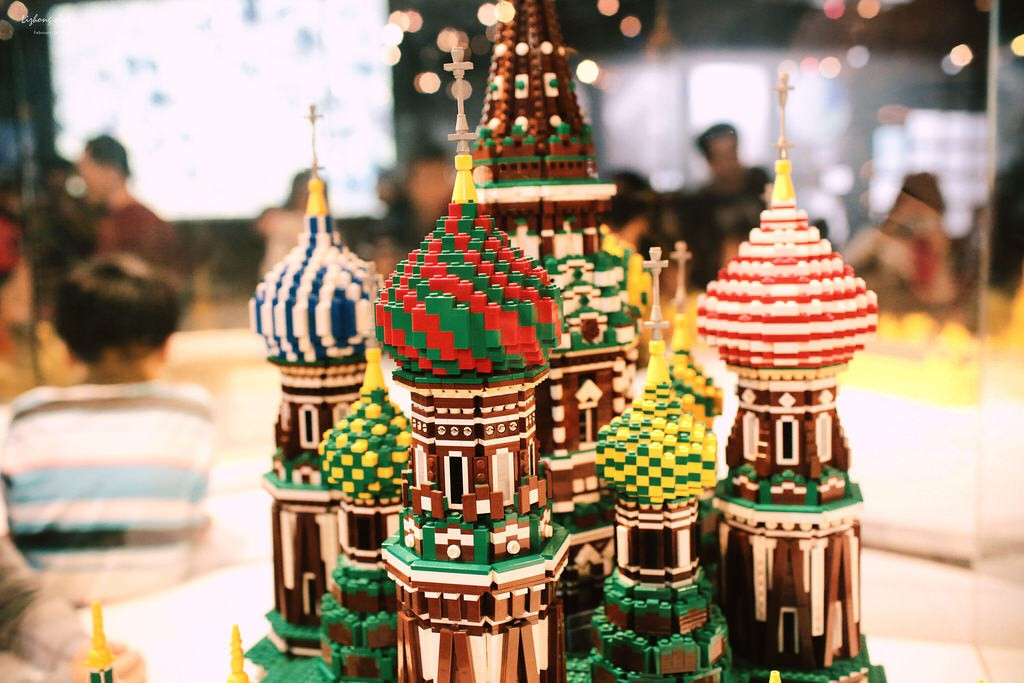 St Basil's Cathedral made out of Legos