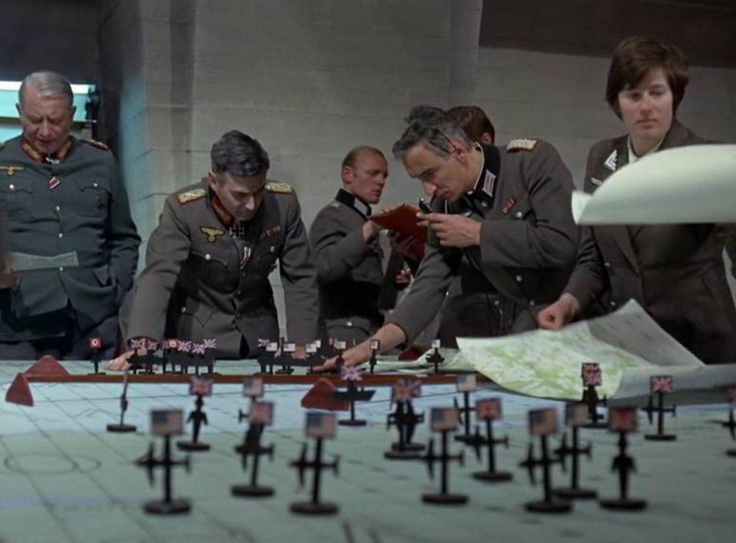 War map in Patton