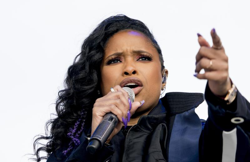 """Jennifer Hudson performs at the """"March for Our Lives"""" rally in Washington, D.C., in 2018."""